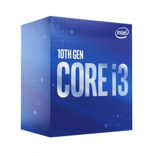 CPU Intel Core I3-10100F (3.6GHz turbo 4.3GHz)-No GPU